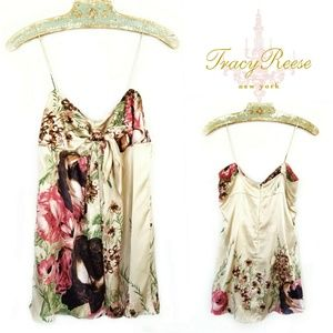 Tracy Reese New York Silk Slip Dress Sz 6